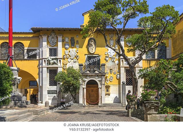Vittoriale degli italiani, Gardone Riviera, Lake Garda, Lombardy, Italy, Europe
