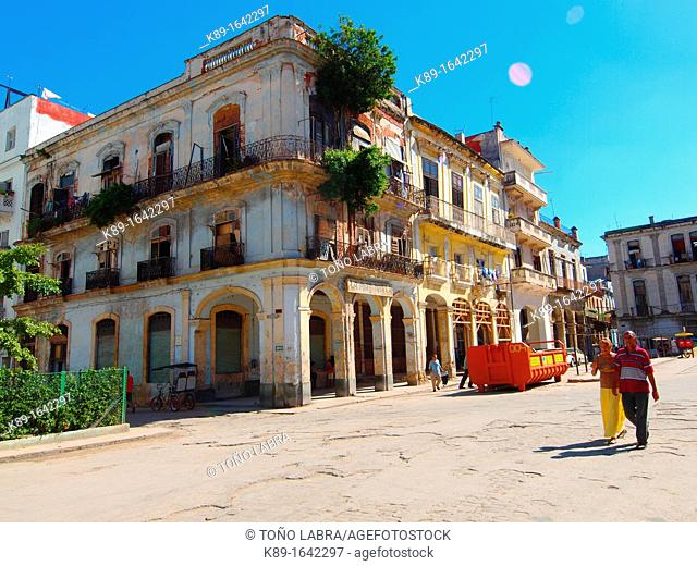 Crist square  Old Havana  Cuba