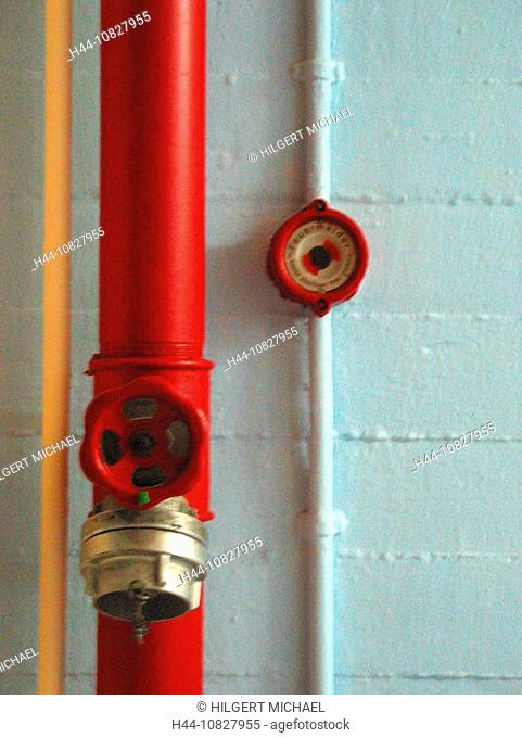 fire alarm, fire alarm, button, knob, counter, switch, fire brigade, department, connection, management, pipeline, lin
