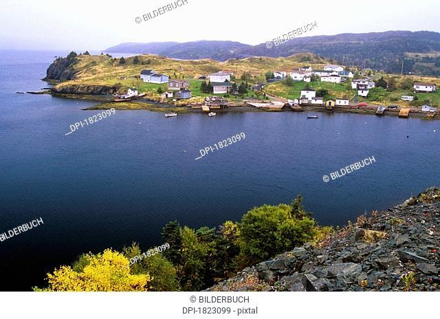 Harbour Mille East, Burin Peninsula, Newfoundland, Canada