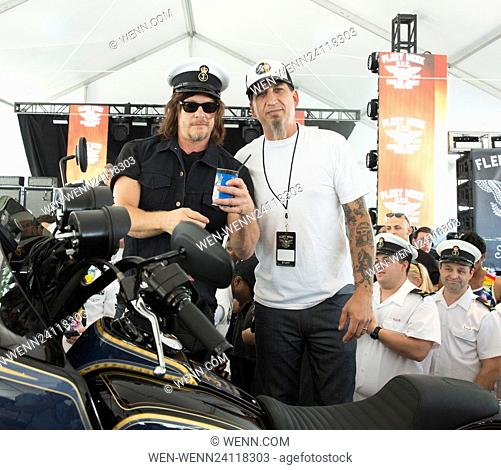 Norman Reedus at a Sailor Jerry Spiced Rum event during Fleet Week in New York City Featuring: Norman Reedus Where: New York, New York