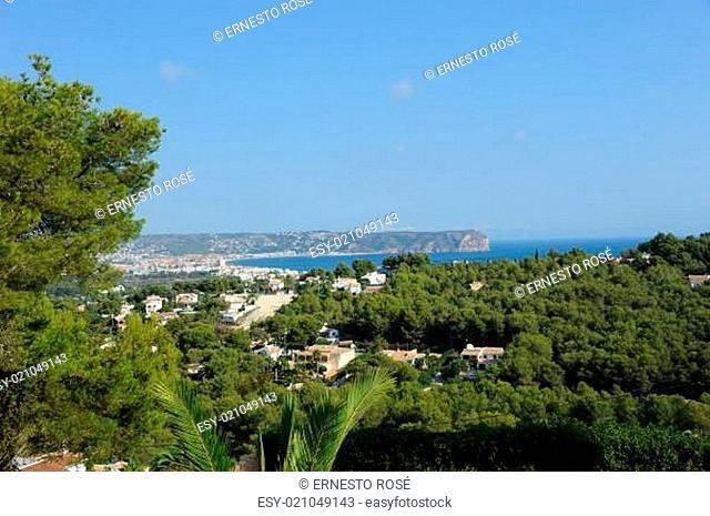 Spanien - Javea mit seinem Strand