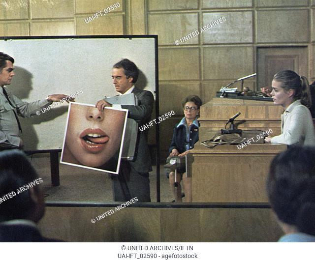 Lipstick, USA 1976, aka: Eine Frau sieht rot, Regie: Lamont Johnson, Darsteller: Robin Gammel, Muriel Hemingway