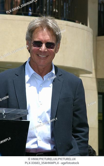 Harrison Ford 05/30/03 Harrison Ford Walk of Fame Ceremony @ 6801 Hollywood Blvd, Hollywood Photo by Kazumi Nakamoto/Hollywood News Wire File Reference #...