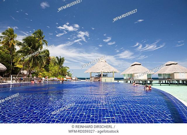 Pool of Maldive Island Ellaidhoo, North Ari Atoll, Maldives