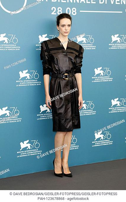 Stacy Martin at the Photocall of the International Jury of the Biennale di Venezia 2019 / 76th Venice International Film Festival at the Palazzo del Casino