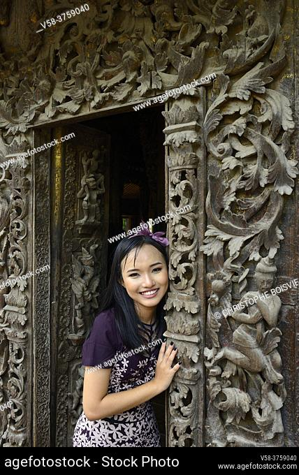 Myanmar pretty girl
