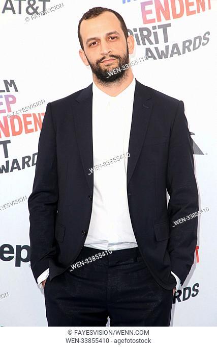 The 33rd Annual Film Independent Spirit Awards at Santa Monica Pier Featuring: Sacha Ben Harroche Where: Santa Monica, California