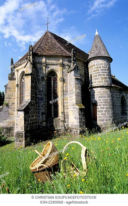 church of Fayl-Billot, Haute-Marne department, Champagne-Ardenne region, France, Europe
