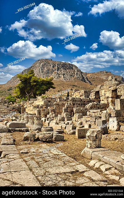 ancient Corinthe, Peleponesis, Greece