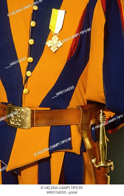 Lazio, Rome. Vatican. Swiss Guard