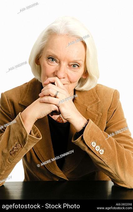 Birgitta Öhman. Model release.