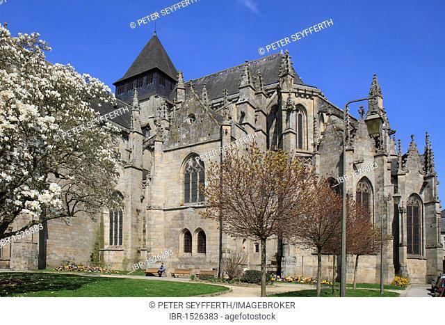 Church, Saint-Malo, Dinan, Côtes-d'Amor, Région Bretagne, France, Europe