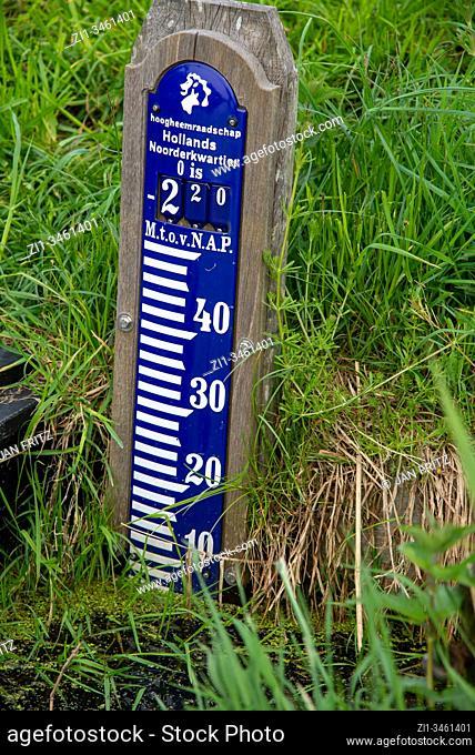NAP, normaal amsterdams peil, water measurement in Holland