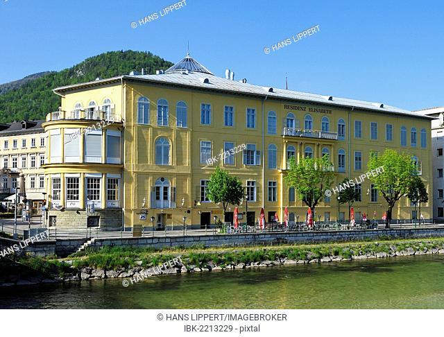 Cafe Sissy, Elizabeth's Residence in Bad Ischl, Salzkammergut, Upper Austria, Austria, Europe, PublicGround