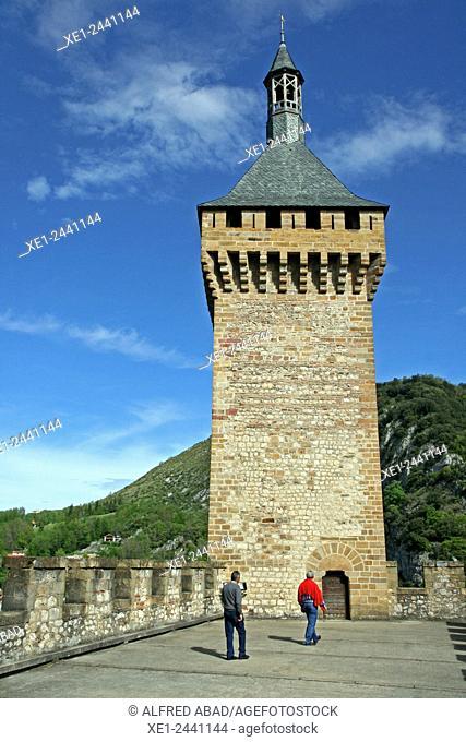 Castle of Foix, Ariege, France