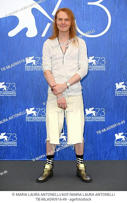The director Nicholas Verso during the photocall of film Boys in the trees at 73rd Venice Film Festival, Venice, ITALY-09-09-2016
