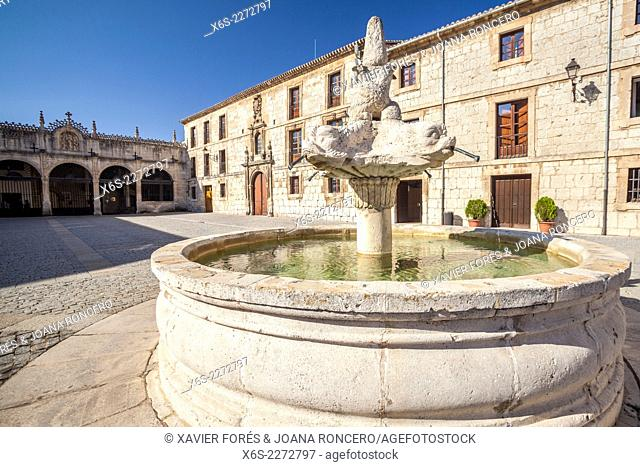 Monastery of Santa Maria la Real de las Huelgas in Burgos city, Way of St. James, Burgos, Spain