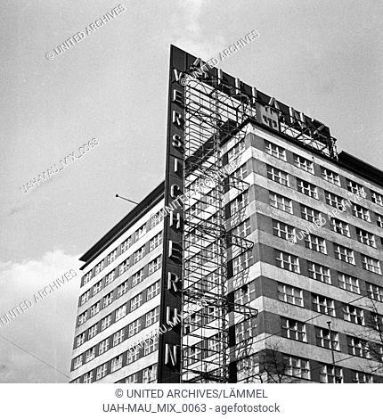 Versicherungsgebäude der Allianz Versicherung, Deutschland 1930er Jahre. Building of the Allianz Versicherung insurance company, Germany 1930s