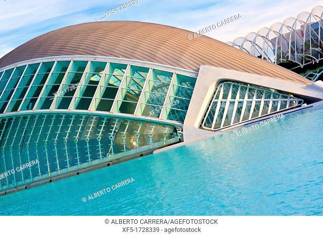 Hemisferic, City of Arts and Sciences, Valencia Comunity, Valencia, Spain, Europe