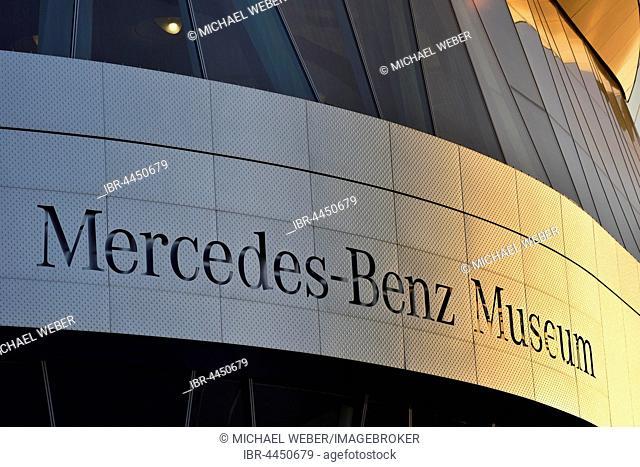 Mercedes-Benz Museum, Stuttgart, Baden-Württemberg, Germany