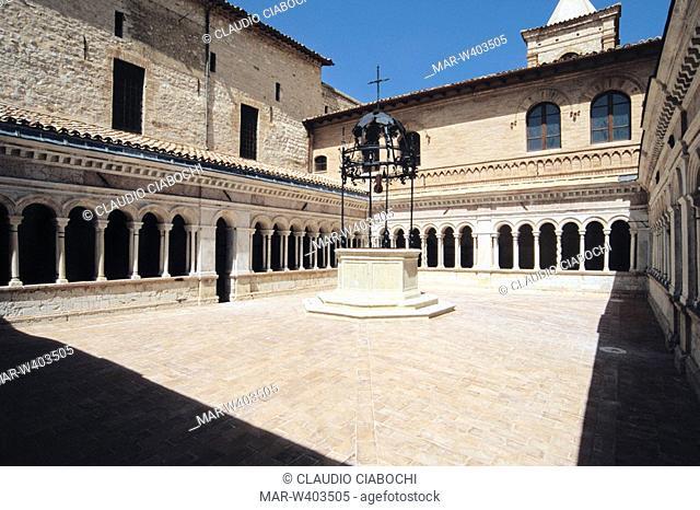 foligno, abbazia di sassovivo, umbria, italy