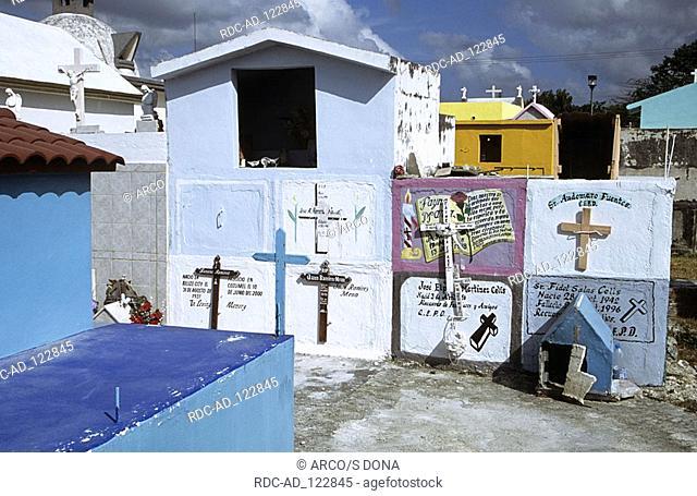 Cemetery Cozumel Mexico