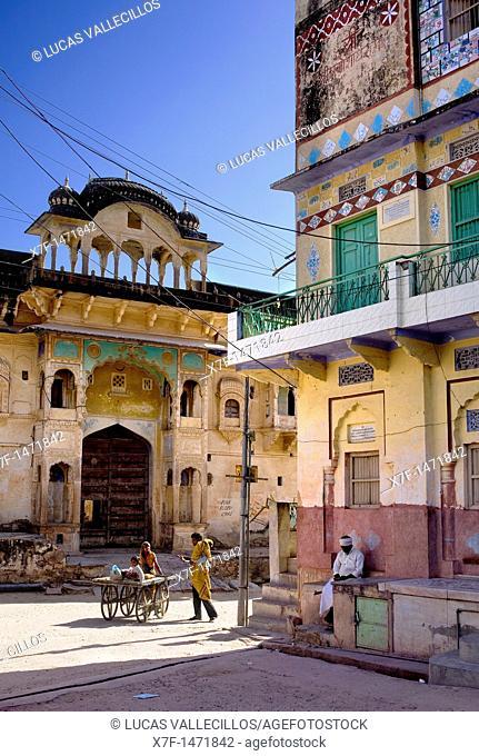 Street scene, pushkar, Rajasthan, india