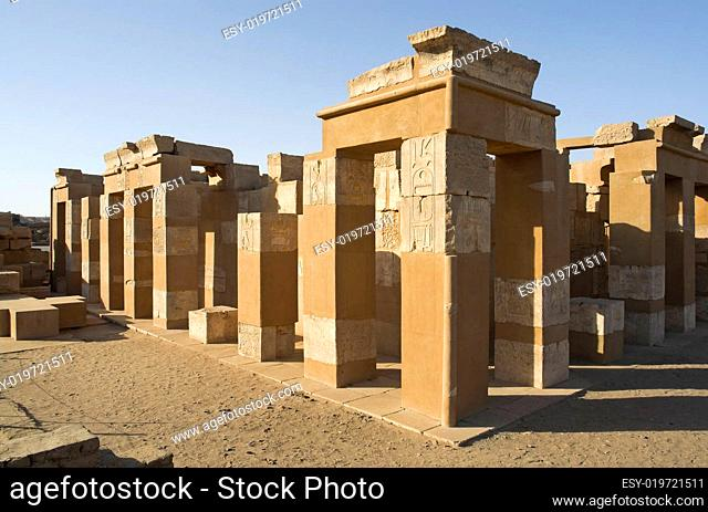 Tempel auf Elefantine bei Assuan Egypt