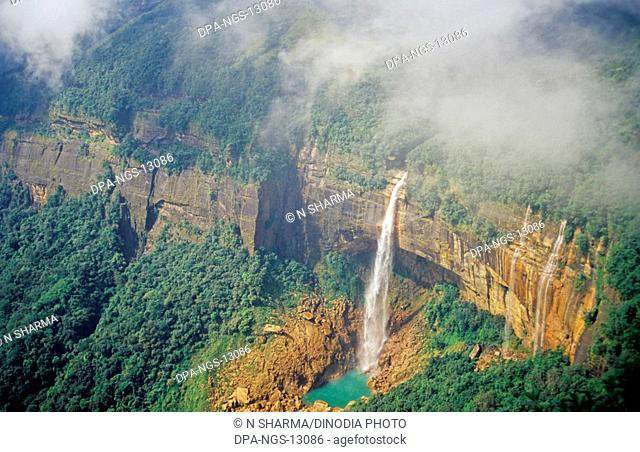 Nohakali Kai Falls, Cherrapunji, Meghalaya, India