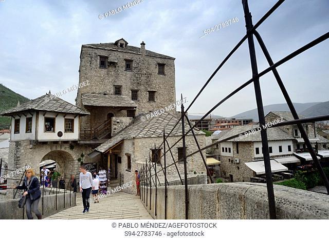"Old bridge """"Stari Most"""" of Mostar, Bosnia and Herzegovina"