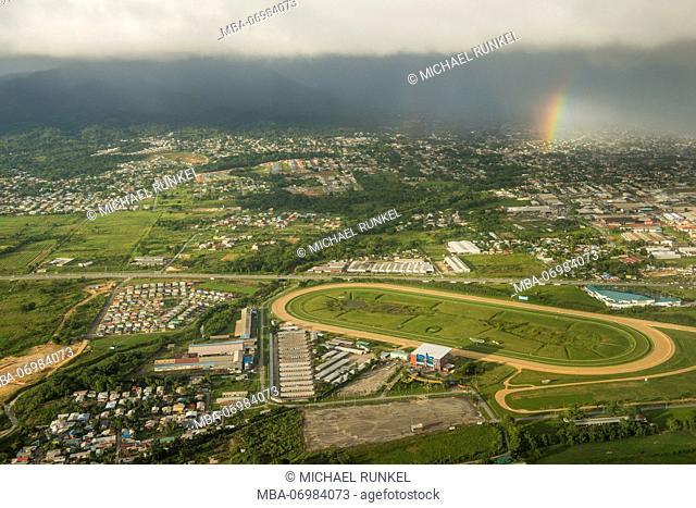 Aerial of Trinidad, Trinidad and Tobago, Carribean