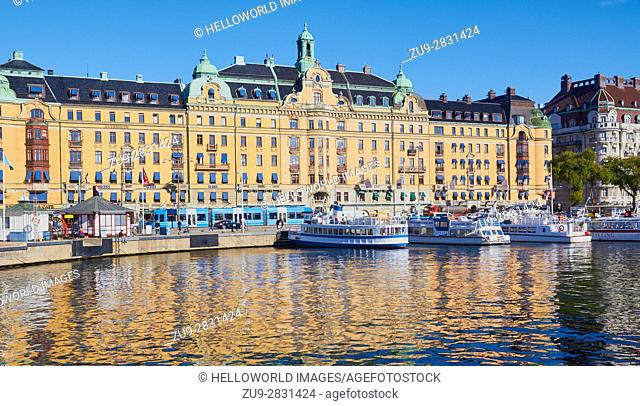 Ostermalm waterfront, Stockholm, Sweden, Scandinavia