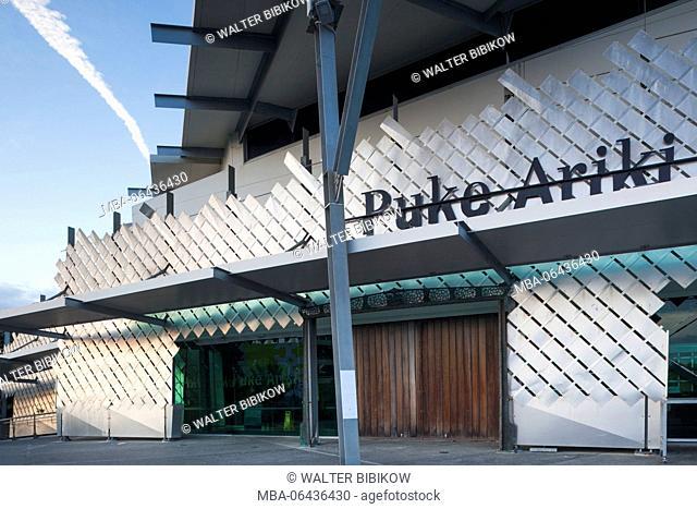 New Zealand, North Island, New Plymouth, Puke Ariki, Maori museum