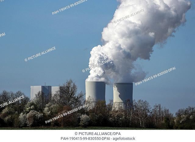 01 April 2019, Saxony, Böhlen: The Lippendorf lignite-fired power plant in the south of Leipzig. Photo: Jan Woitas/dpa-Zentralbild/dpa