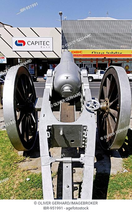 Cannon from the Boer War, city of Ladysmith, Kwazulu-Natal, South Africa, Africa