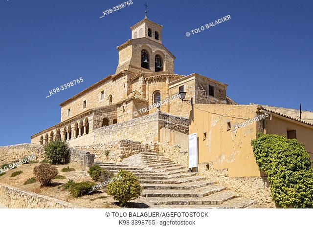 Iglesia de Nuestra Señora del Rivero, 12th Century, San Esteban de Gormaz, Soria, Comunidad Autónoma de Castilla, Spain, Europe