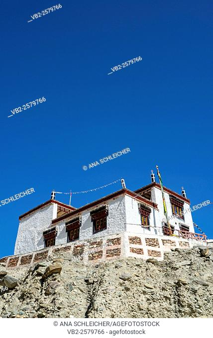 Skiu gompa. Trekking in Markha valley (Laddakh, India)