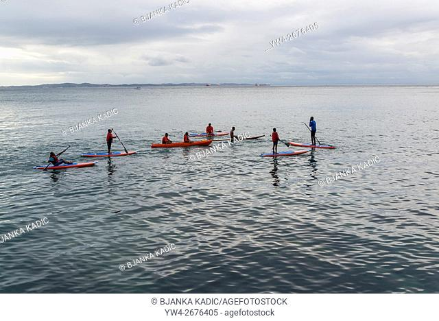 Kayaking and Paddleboarding, Salvador, Bahia, Brazil