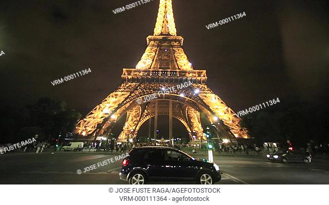 France , Paris City, Eiffel Tower
