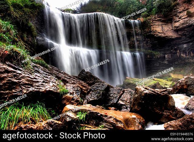 Websters Falls Waterfall in Ontario