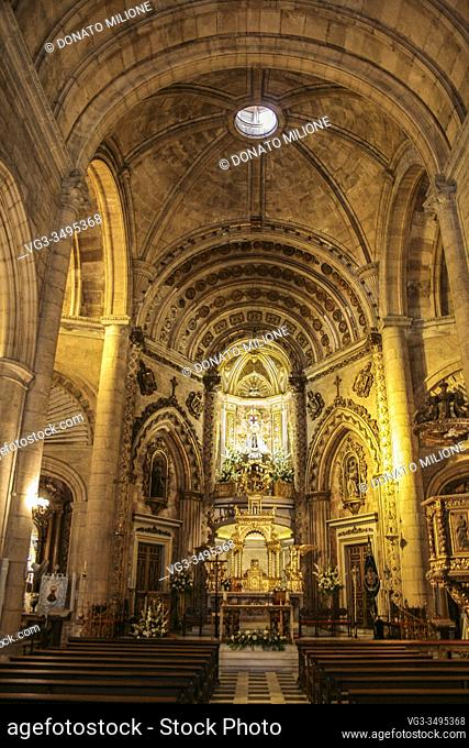 Almería, Andalusia, Spain, Europe. . The Sanctuary of the Virgen del Mar, patron saint of Almería. (Santuario de la Virgen del Mar)