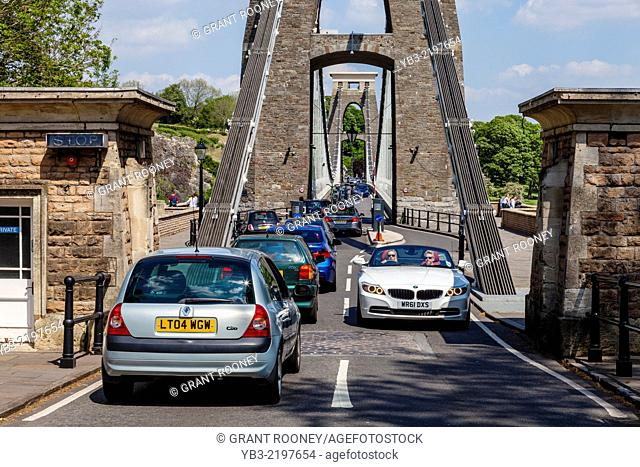 The Clifton Suspension Bridge, Bristol, Avon, England