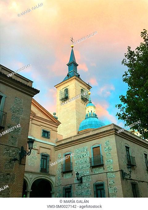 San Gines church. Arenal street, Madrid, Spain