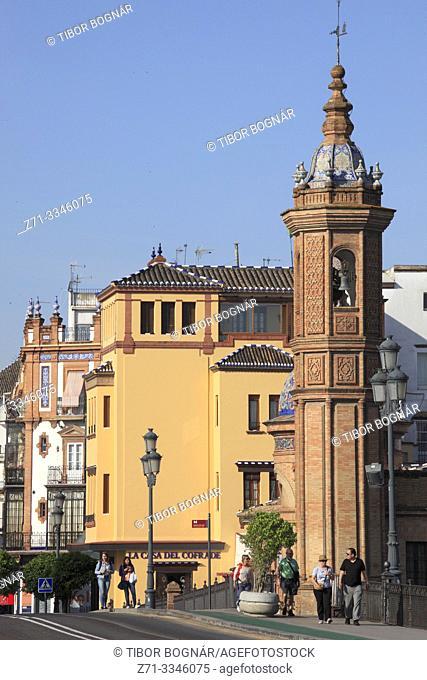 Spain; Andalusia; Seville; Castillo San Jorge,