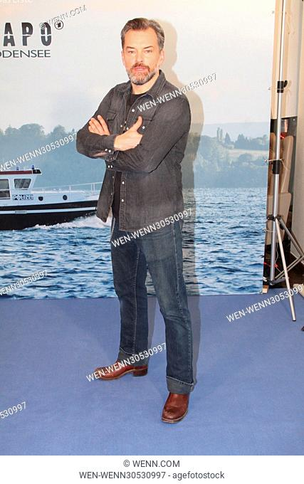 Photocall for ARD TV series 'WaPo Bodensee' at Arcotel Onyx. Featuring: Ole Puppe Where: Hamburg, Germany When: 29 Nov 2016 Credit: WENN.com