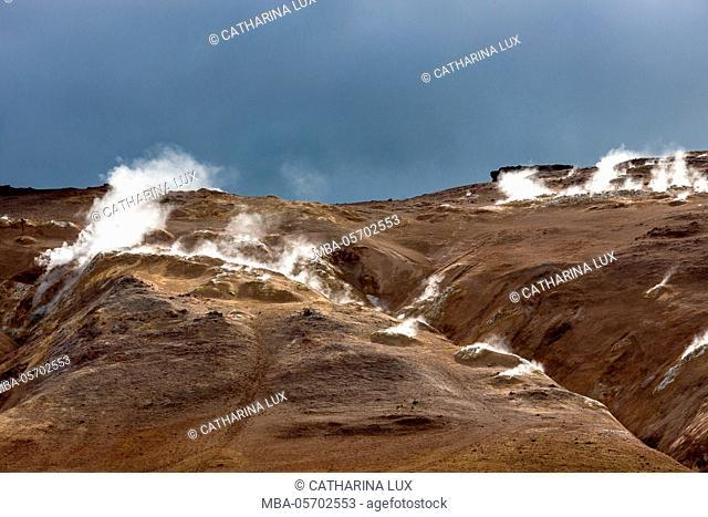Iceland, Geothermal area Hverir