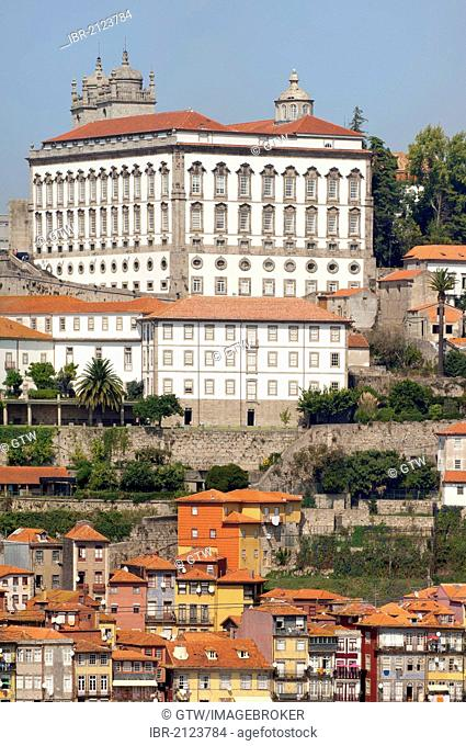 Former Episcopal Palace, Ribeira district, Porto, Unesco World Heritage Site, Portugal, Europe