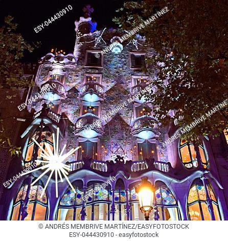 Casa Balló by Antonio Gaudí in Barcelona