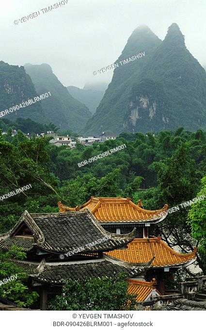 Yangshou in Guilin region of China